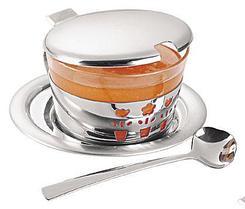Набор для меда, варенья стальной 4 предмета Primavera Tramontina