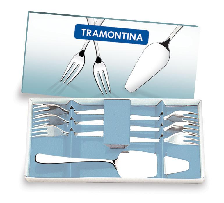 Набор приборов для десерта 7 предметов 66960/600 Amazonas Tramontina