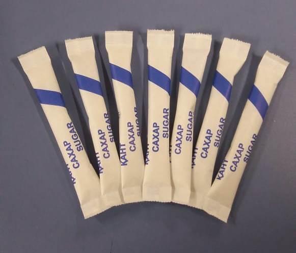 Сахар (с логотипом) 5 гр., пакетированный (Sherdin)
