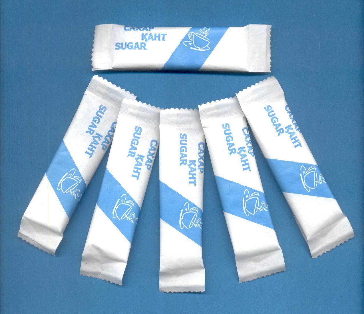 Сахар (с логотипом) 10гр., пакетированный (Sherdin)