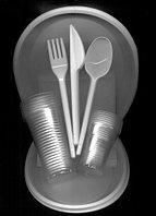 "Набор одноразовой посуды ""Пикник"" на 6 персон (Sherdin), фото 1"