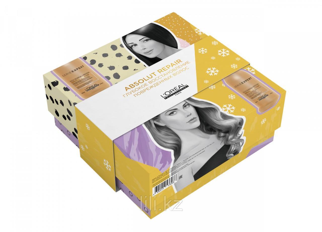 Набор L'Oreal Professionnel Absolut repair для глубокого восстановления повреждённых волос.