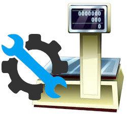 Ремонт торговых весов Rongta, Масса К, CAS, Штрих-М, Mettler Toledo, Ронгта с печатью ценников и этикеток.