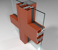 Фасадная алюминиевая система СИАЛ КП40