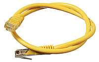 Патч-корд Сетевой RJ-45 1 метр (желтый)