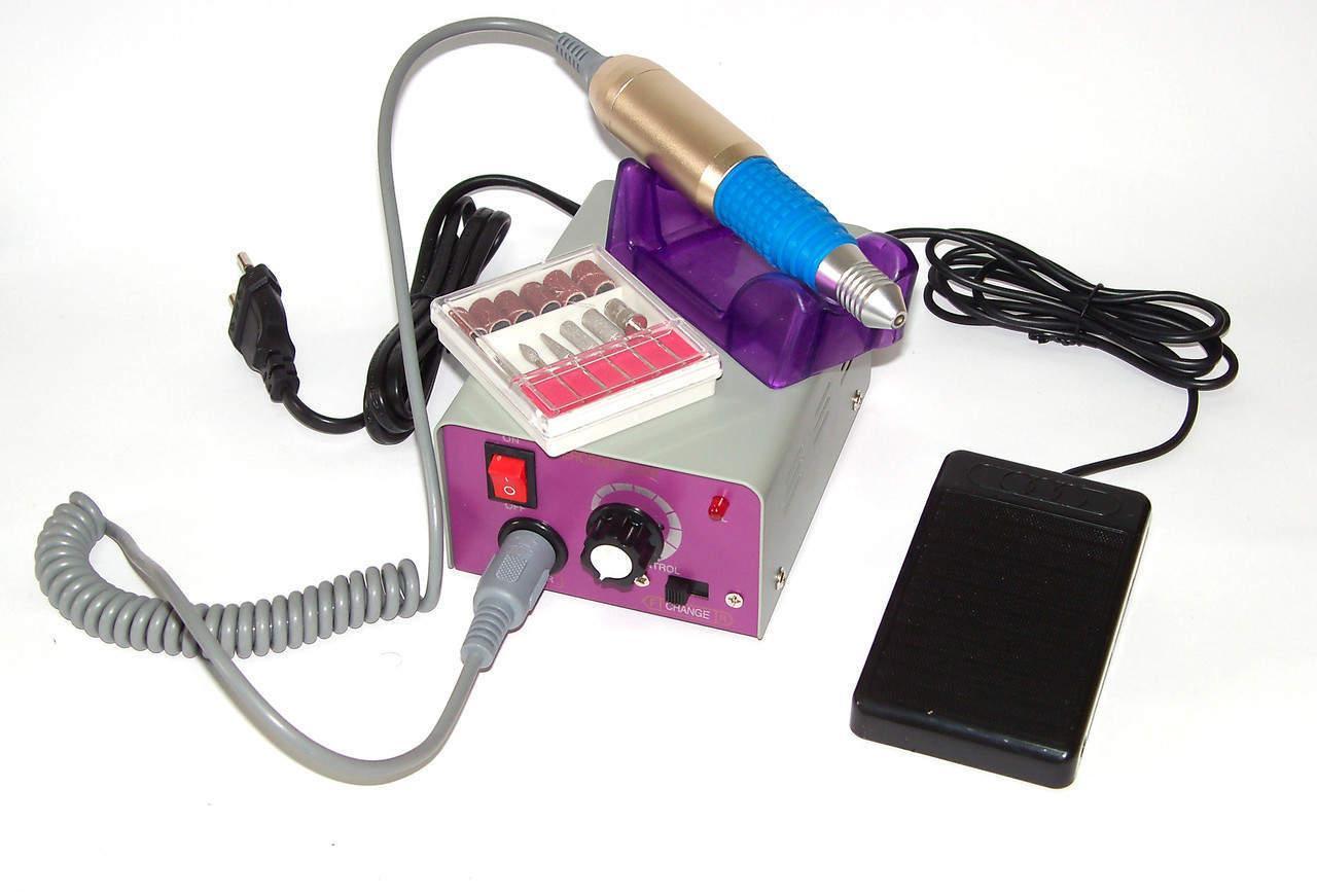 Аппарат (фрезер) для маникюра и педикюра Lina 211  с насадками.(Lina MM-25000)