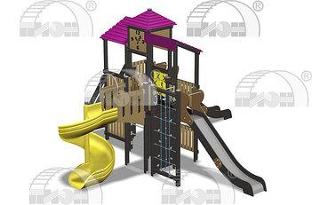 Детские игровые комплексы Пион