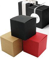 """Подарочная коробка """"Куб"""", 10 х 10 х 10 см, два цвета"""