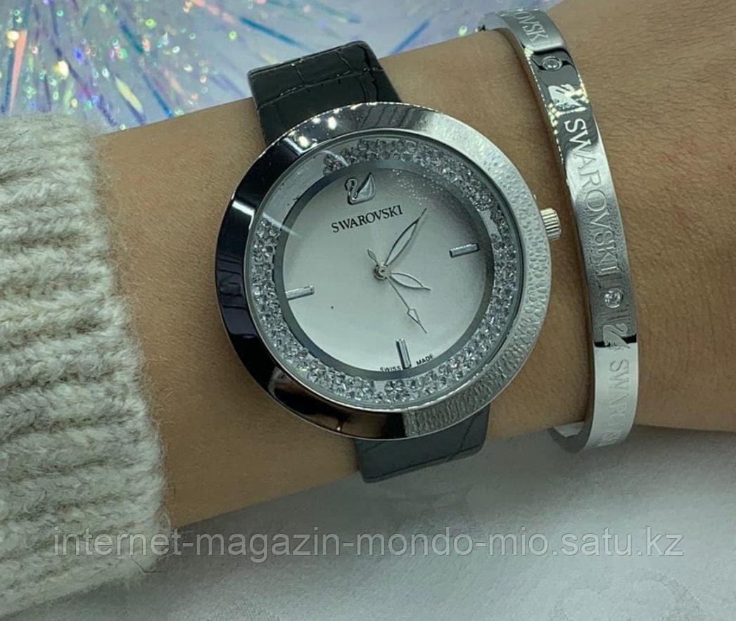 Набор часы и браслет Swarovski