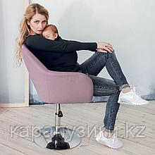 Слинг майка с длинным рукавом черная