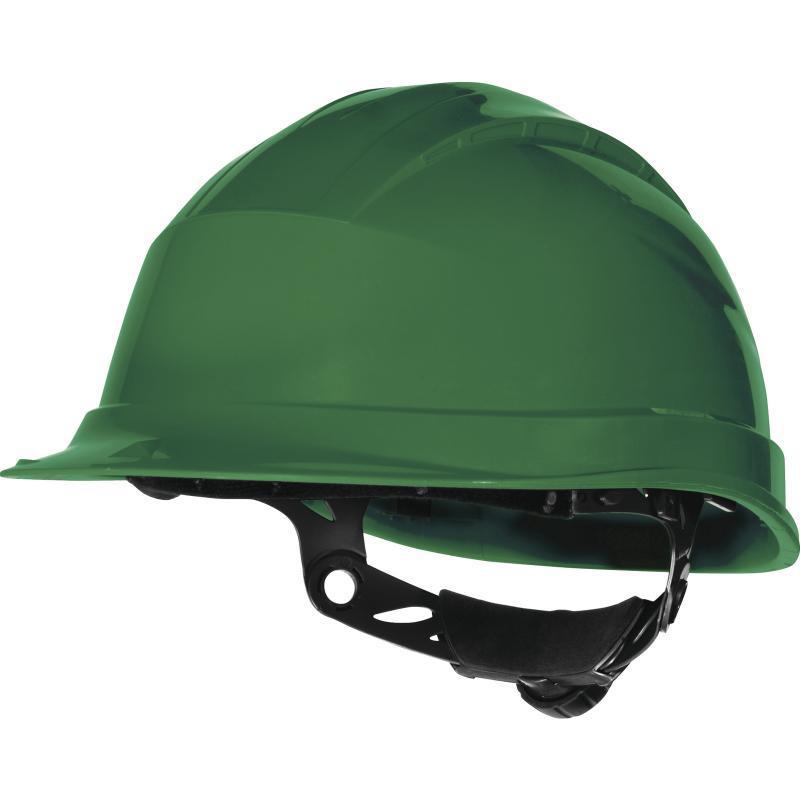 Каска защитная QUARTZ UP III зеленая в Алматы
