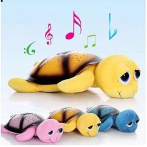 Ночник проектор звездного неба Черепаха (желтая), фото 2