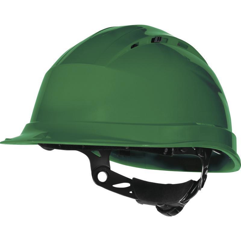 Каска защитная QUARTZ UP IV зеленая в Алматы