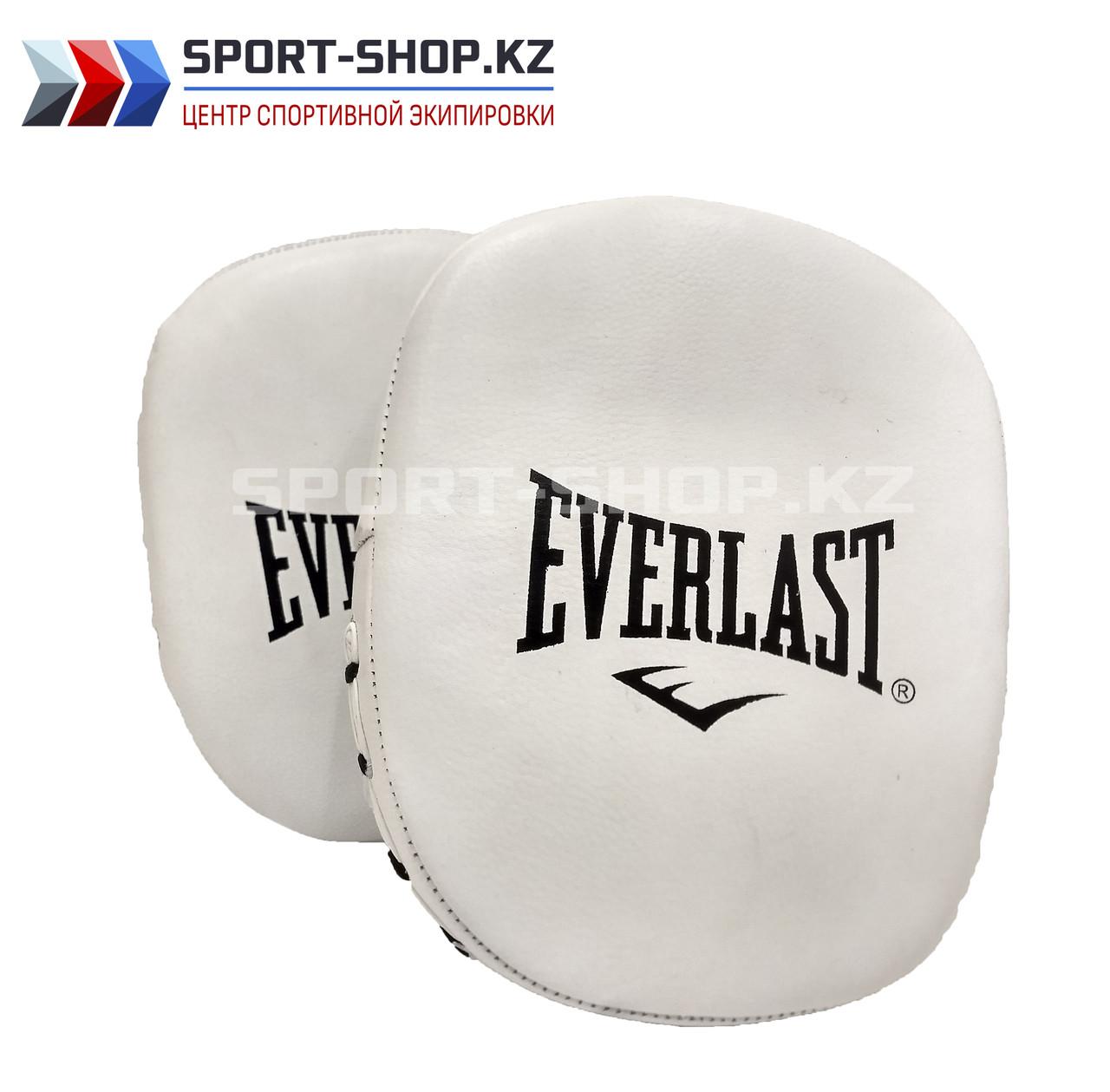 Боксерские лапы EVERLAST PRECISION white