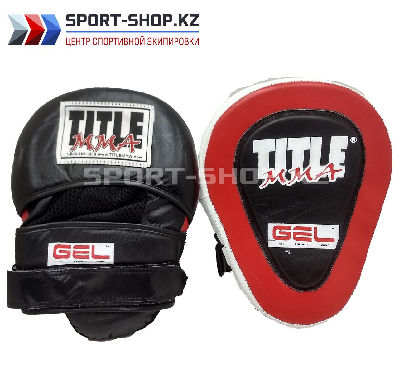 Боксерские лапы  TITLE MMA