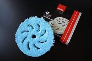 Полировальный диск из микрофибры грубый синий 150/150мм