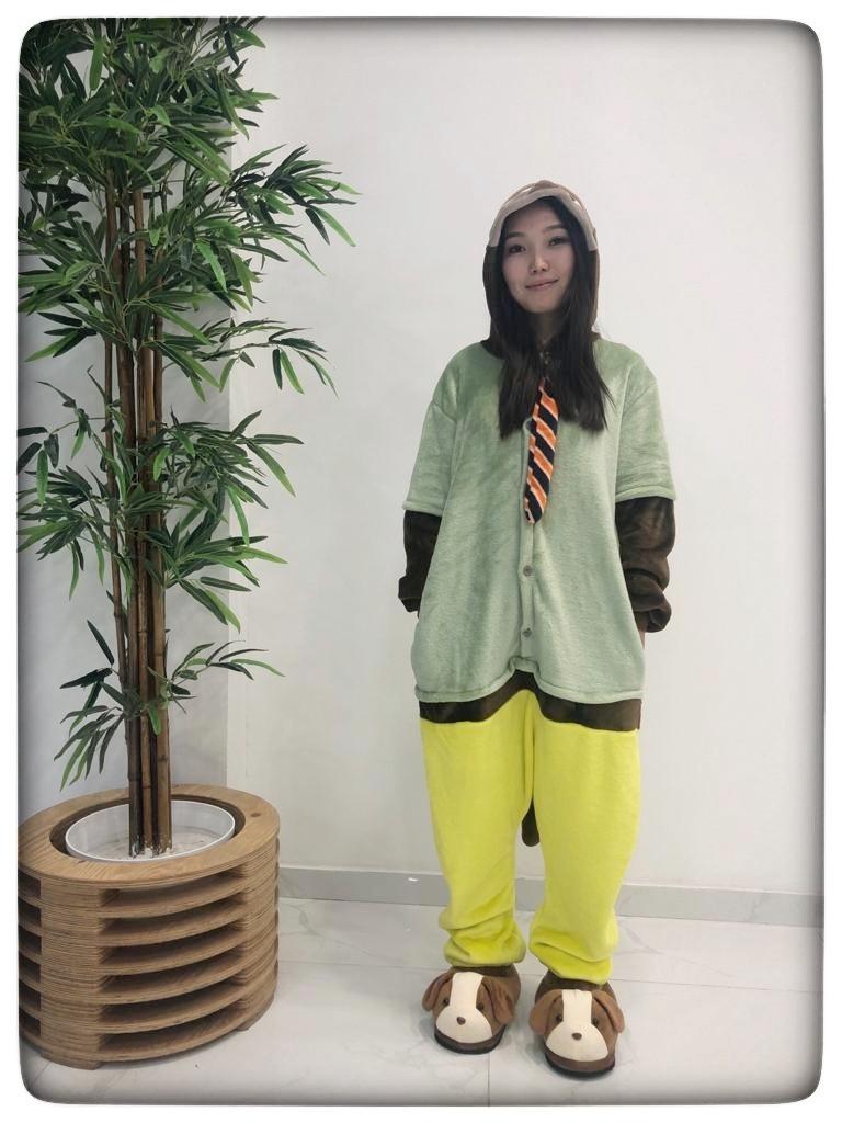 Пижама кигуруми ленивец (зверополис)