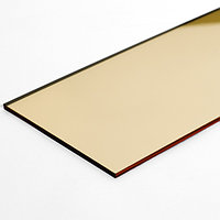 Акрил 2мм (зеркало золото) 1,22*1,83