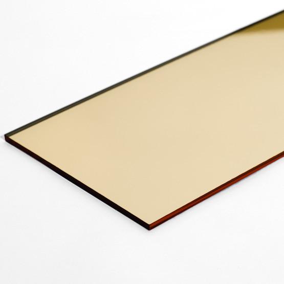 Акрил 3мм (зеркало золото)1,22*2,44