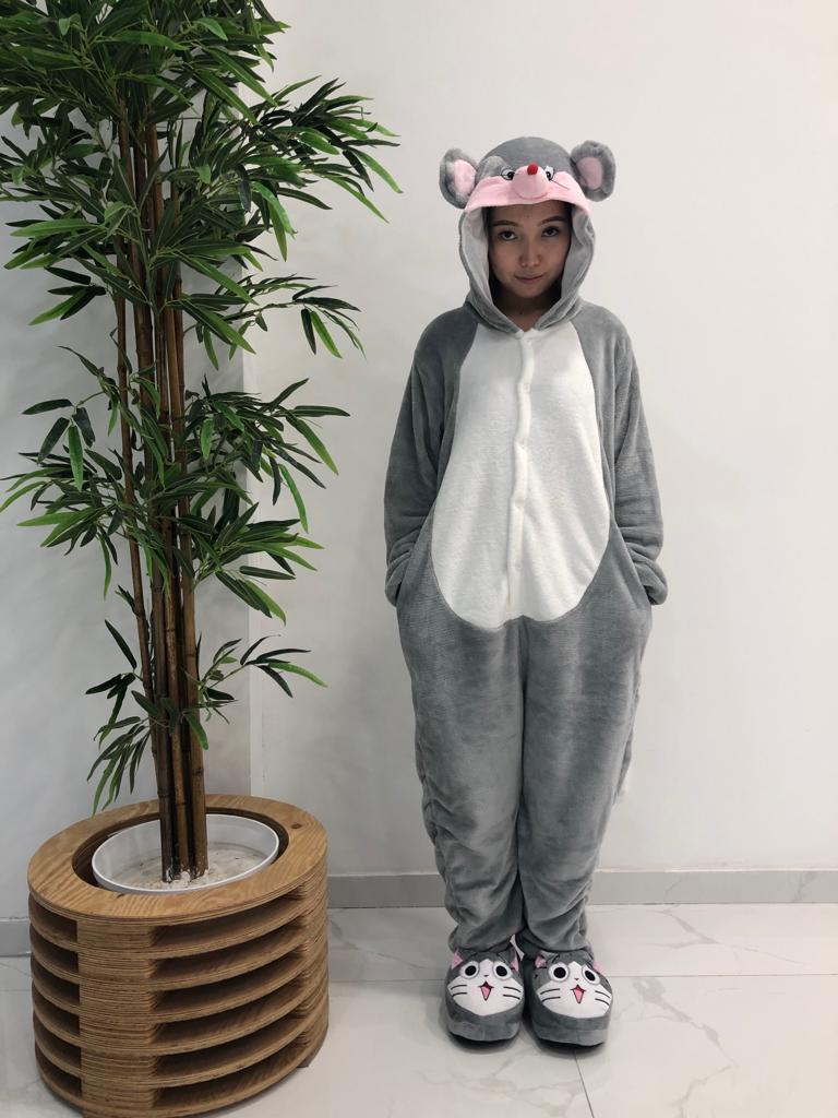 Пижама кигуруми  мышка