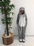 Кигуруми  заяц серый, фото 3