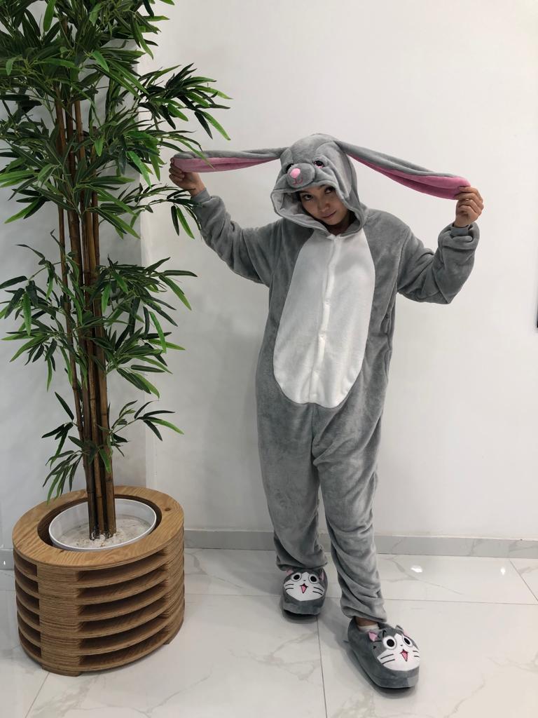 Кигуруми  заяц серый