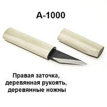 Нож-косяк японский, 170мм*22мм*3мм, двухслойная сталь