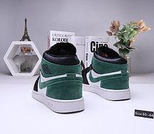 Зимние кроссовки  Nike Air Jordan 1 Retro с мехом  (40-44 ), фото 2