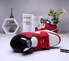 Зимние кроссовки  Nike Air Jordan 1 Retro Red с мехом  (40-44 ), фото 3