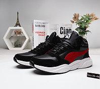 Зимние кроссовки Puma Cell черно-красные в Алматы размер 40 , 41 в наличии