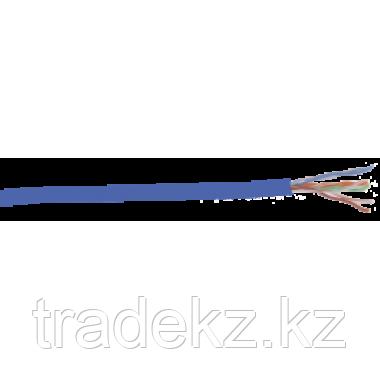 ITK LC1-C5E04-113 кабель витая пара U/UTP кат.5E 4х2х24AWG solid PVC синий (305 м)
