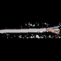 ITK LC1-C5E04-121-100 кабель витая пара U/UTP кат.5E 4x2х24AWG solid LSZH нг(А)-HF серый (100 м)