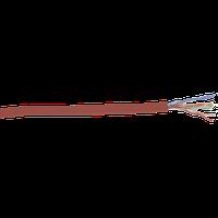 ITK LC1-C5E04-124 кабель витая пара U/UTP кат.5E 4х2х24AWG solid LSZH нг(А)-HF красный (305 м)