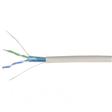 ITK BC1-C5E02-328 кабель связи витая пара ШПД F/UTP кат.5E 24AWG, 2 пары solid LSZH белый (500 м)