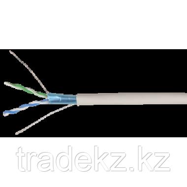 ITK LC1-C5E02-321 кабель витая пара F/UTP кат.5E 2х2х24AWG solid LSZH нг(А)-HF серый (500 м), фото 2