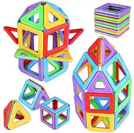 Детский магнитный конструктор 44 предмета, фото 2