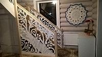 Перила резные для лестницы.