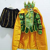 """Костюм """"Короля"""" детский от 3 до 10 лет, зелёный., фото 1"""