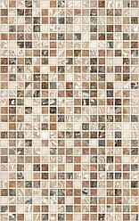 Керамическая плитка PiezaROSA НЕО коричневая/темная 122863 (25*40)