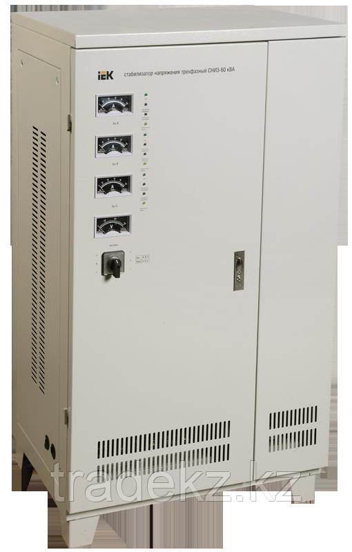 Стабилизатор напряжения трехфазный СНИ3-90 кВА IEK IVS10-3-90000