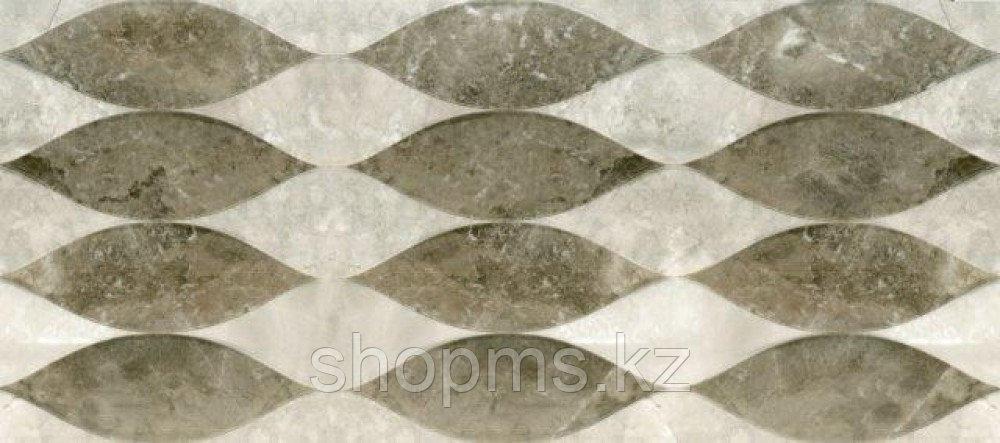 Керамическая плитка PiezaROSA Тегеран среднесерая138872 (20*45)