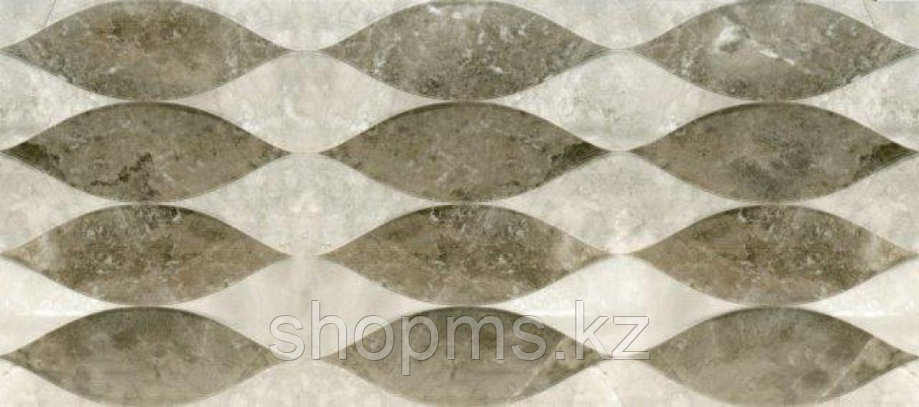 Керамическая плитка PiezaROSA Тегеран среднесерая138872 (20*45), фото 2