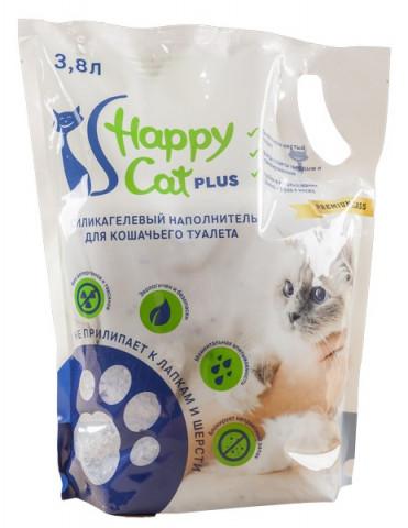 Силикагелевый наполнитель Happy Cat (классический)