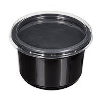 Суповой черный контейнер К115 250мл