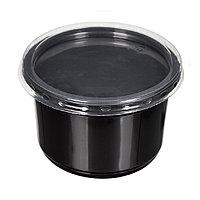 Суповой черный контейнер К115 500мл