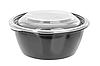 Суповой черный контейнер К144 750мл