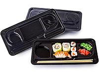 Контейнер черный для суши КД 001