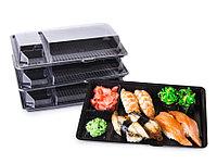 Контейнер черный для суши КД 011