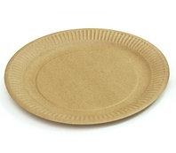 Бумажная крафт тарелка Eco Plate 180мм