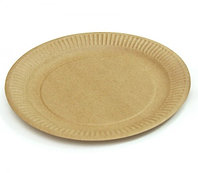 Бумажная крафт тарелка Eco Plate 230мм